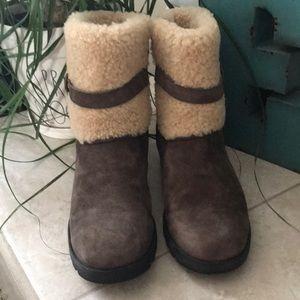 UGG Chocolate Blayre Short Boots